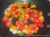 Sautéd vegetables for the eggs