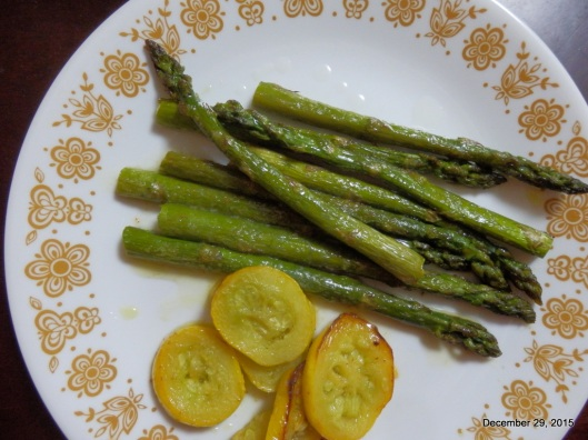 asparagus and summer squash